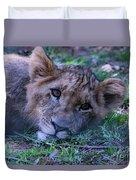 The Lion Cub Duvet Cover