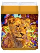 The Lioness  Duvet Cover