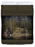 The Little Cabin Duvet Cover