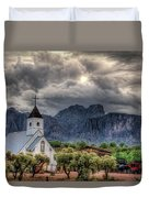 The Little Church  Duvet Cover