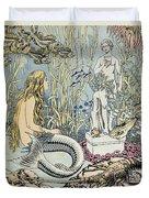 The Little Mermaid Duvet Cover