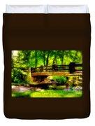 The Little Stone Bridge Duvet Cover