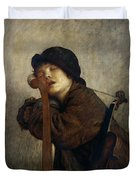 The Little Violinist Sleeping Duvet Cover
