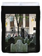 The Living And The Dead Duvet Cover
