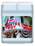 The Lobster Pot #1 Duvet Cover