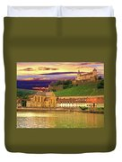 The Lock On The Hill Duvet Cover