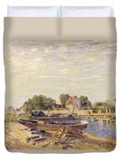 The Loing At Saint Mammes 1885 Duvet Cover