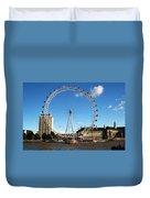 The London Eye 2 Duvet Cover