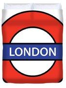 The London Underground Duvet Cover