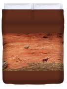 The Lone Horse Duvet Cover