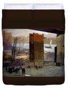 The Lone Tenement Duvet Cover