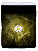 The Lonely Daisy Duvet Cover