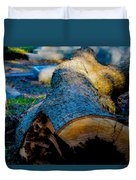 The Lonely Log Duvet Cover