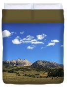 The Lonely Mountains Duvet Cover