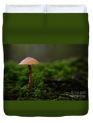 The Lonely Mushroom Duvet Cover