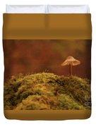 The Lonely Mushroom Duvet Cover