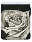 The Lonely Rose Duvet Cover