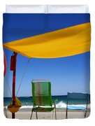 The Lonely Sea And The Sky Duvet Cover