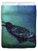 The Long Night Ends Duvet Cover