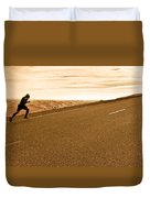The Long Road Duvet Cover