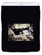 The Lookout Lynx Duvet Cover