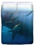 The Lord Of The Ocean Duvet Cover