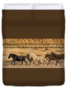 The Lord's Delight Duvet Cover
