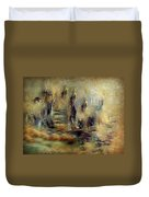 The Lost City By Sherriofpalmsprings Duvet Cover