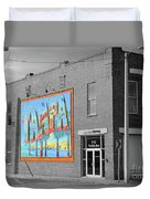 The Lost Tampa Postcard Duvet Cover