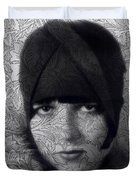 The Louise Brooks Tattoo Take 2 Duvet Cover