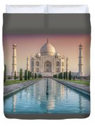 The Love Of Taj Duvet Cover