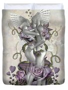 The Love Of The Two Souls Duvet Cover