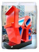 The Love Sculpture Duvet Cover