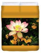 The Lovely Lotus Duvet Cover