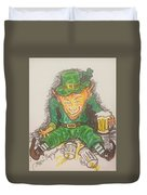 The Luck Of The Irish Duvet Cover