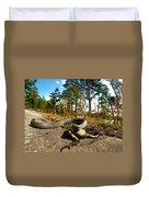 The Lunch Of Grass Snake Duvet Cover