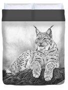 The Lynx 2017 Version Duvet Cover