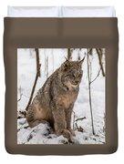 The Lynx Duvet Cover