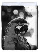 The Macaw Duvet Cover