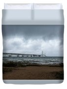 The Mackinac Bridge Duvet Cover