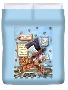 The Mad Hatter - In Court Duvet Cover