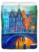 The Magic Of Amsterdam Duvet Cover