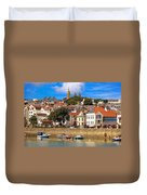 The Magic Of St. Peter Port In Guernsey Duvet Cover