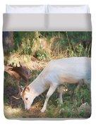 The Magical Deer 3 Duvet Cover