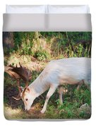 The Magical Deer Duvet Cover