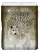 The Magical Wolf Duvet Cover