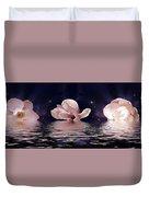 The Magnolias Duvet Cover