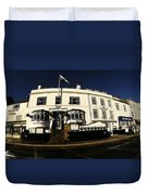 The Magpie Cafe Duvet Cover