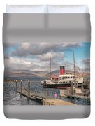 The Maid Of The Loch Duvet Cover