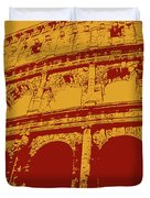 The Majestic Colosseum Of Rome Duvet Cover
